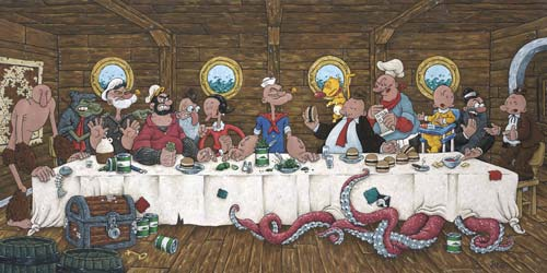 Popeye Last Supper