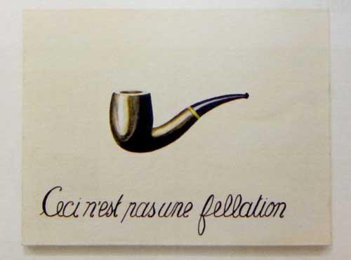Présence Panchounette, Ceci nest pas une fellation, 1979, acrylique sur toile