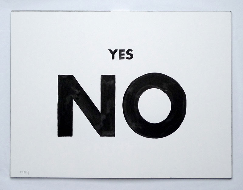Rafaël Rozendaal , Yes No, 2009