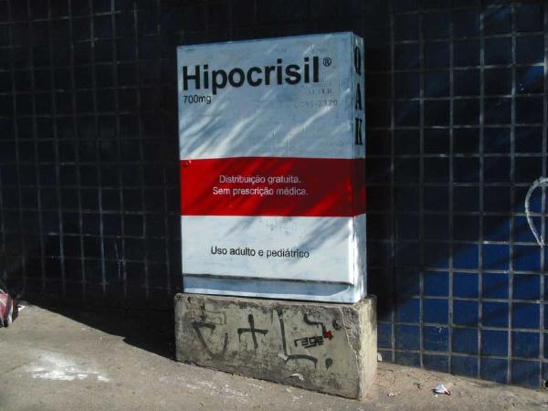 Rage-Art, Hipocrisil ®, 2010