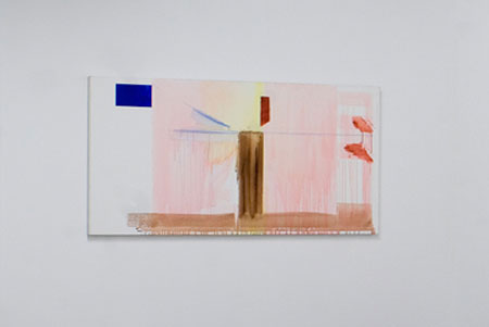 Reena Spaulings, Money Painting (50 Euros), 2005