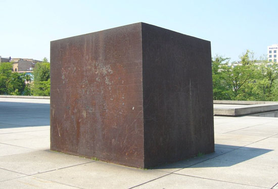 Richard Serra, Berlin Block (For Charlie Chaplin), 1978