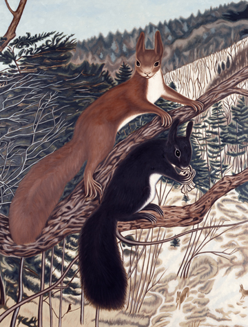 Richard Phillips, Similar to Squirrels after A. Dietrich, 2003
