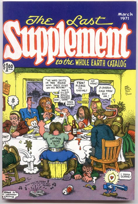 Robert Crumb, The Last Supplement, 1971