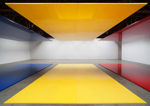Robert Irwin, Whos Afraid Of Red, Yellow and Blue?, 2006