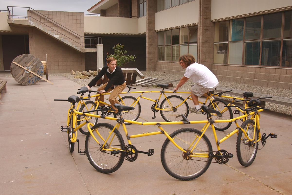Robert Wechsler, The best circular bike ever made, at UCSB, by a guy whose last name starts with W... or at least its it the top ten, 2003