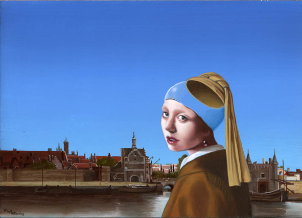 Ruud Antonius, View on Delft, 2008