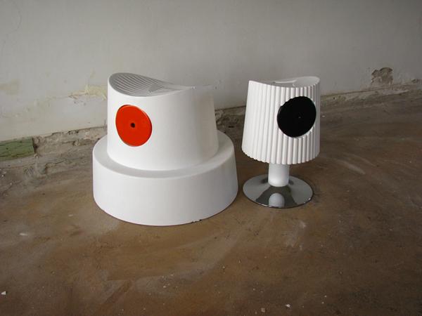 Sander van Heukelom, Fat Cap Chairs, 2010