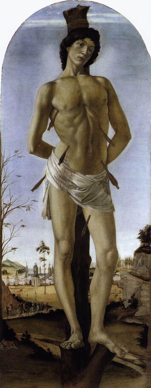 Sandro Botticelli, St. Sebastian, 1474