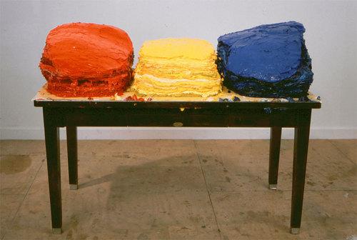 Scott Richter, Whos Afraid of Red, Yellow & Blue #2, 1998