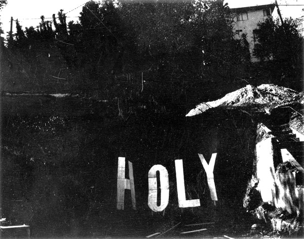 Shannon Ebner, Distressed Holy, 2002-10