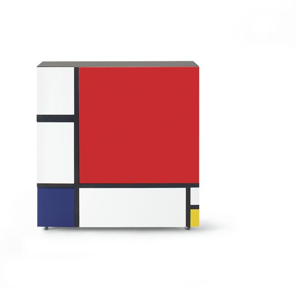 Shiro Kuramata, Homage to Mondrian, 2009