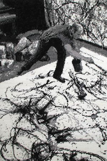 Simon Moretti, Untitled (Pollock), 2003