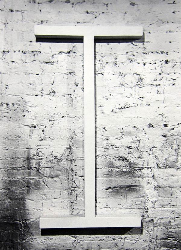 Sol Lewitt, Wall Piece I, 1964
