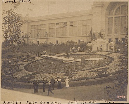 St. Louis Worlds Fair, Great Clock, 1904