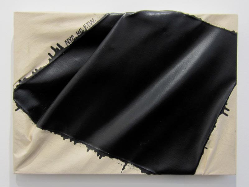Steven Parrino, N.Y.C.H.C.F.T.W (New York City Hardcore Fuck the World), 1995