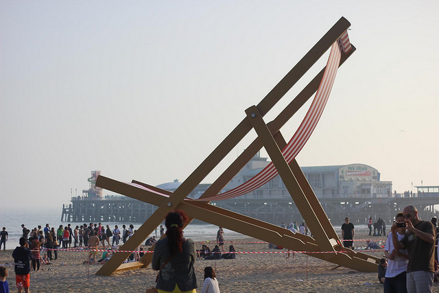 Stuart Murdoch, Giant Deckchair, 2012, Bournemouth (UK)
