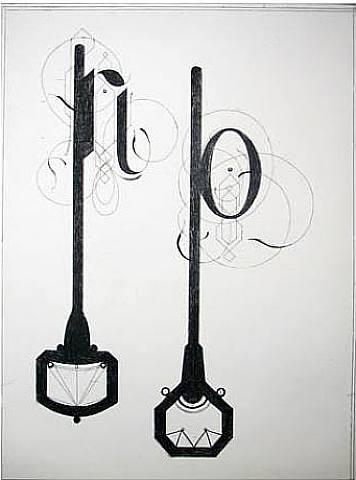 Tauba Auerbach, No, 2005