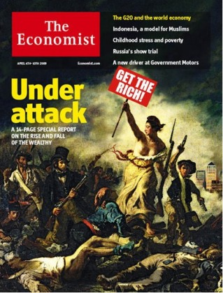 The Economist, The rich under attack, 2009