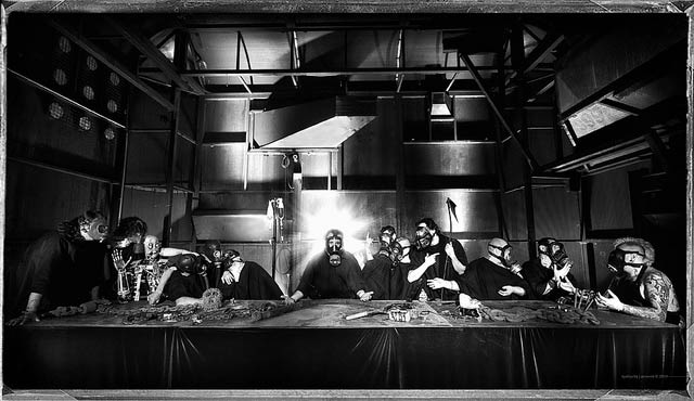 Thierry Ehrmann, The Last Supper, 2010
