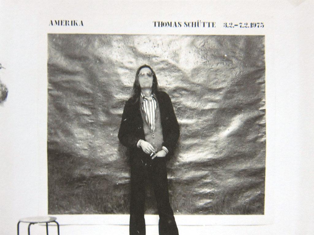 Thomas Schutte, Amerika, 1975