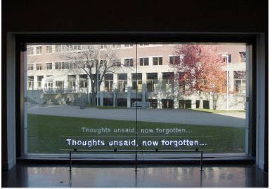 Thoughts unsaid, now forgotten..., 2004