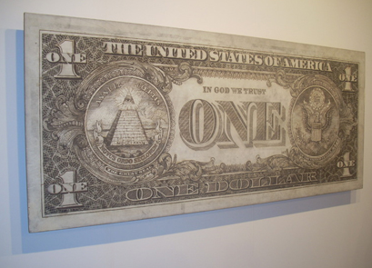 Tom Sachs, One Dollar Bill, 2007