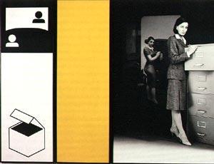 Victor Burgin, Office at Night, 1985-86
