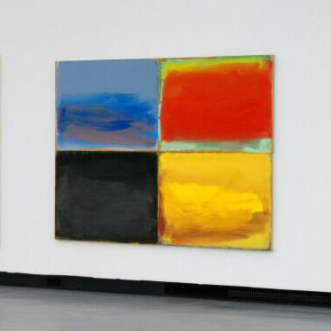 Werner Schmidt, Whos afraid of red, yellow and blue, 2003