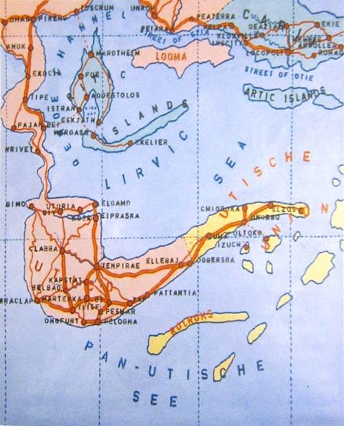 Wim Delvoye, Pan-Utic archipel, 1989