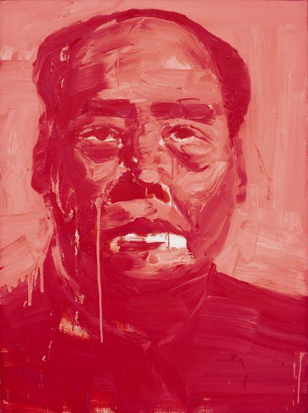 Yan Pei Ming, Timonier 009, 1998