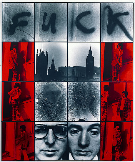 Gilbert & George, Fuck, 1977