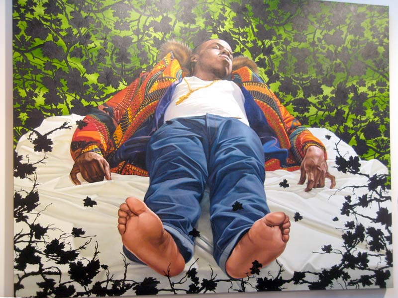 Kehinde Wiley, Lamentation Over The Dead Christ, 2008
