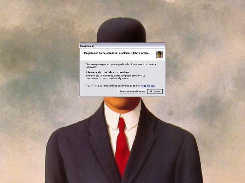 nohaycomolodeuno, Magritte.exe, 2008