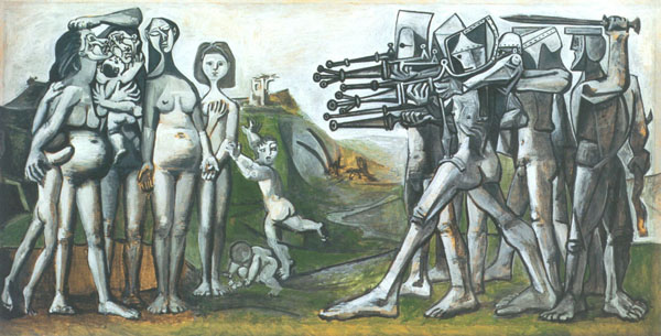 Pablo Picasso, Massacre in Korea, 1951