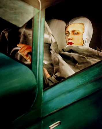 covers & citations » tamara de lempicka, 'self-portrait in green