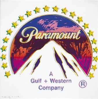Andy Warhol (1928-1987), 'Paramount, from Ads (F. & S. II.352),' 1985, screenprint in colors, on Lenox Museum Board, 96,5 x 96,5 cm