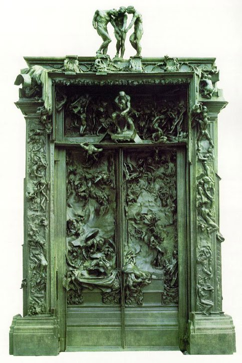 Auguste Rodin, The Gates of Hell, 1880-1917, bronze, 18 x 12 ft