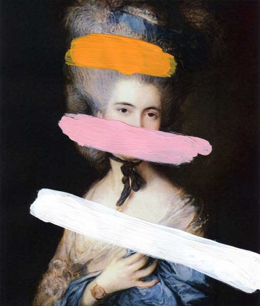 Chad Wys, 'Brutalized Gainsborough', 2009