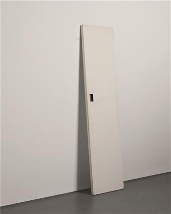 Gedi Sibony, So Long Ago, 1996-2006, wooden door, 224 × 54.5 cm