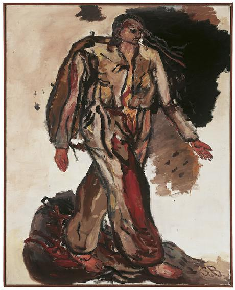 Georg Baselitz, 'Bonjour Monsieur Courbet', 1965, oil on canvas, 162 x 130 cm