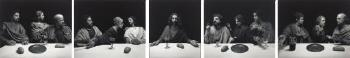 Hiroshi Sugimoto (1948), 'The Last Supper,' 2000, gelatin silver prints mounted on panel, 151 x 739 cm