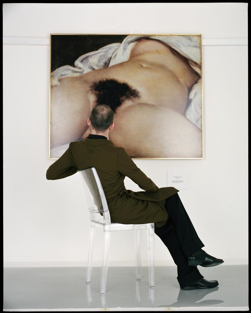 Jean-Baptiste Mondino, 'Man Looking at the Origin of the World', 1998