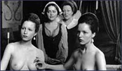 John Boorman, film still, 'Two Nudes Bathing - Gabrielle d'Estrées and one of her Sisters,' 1994