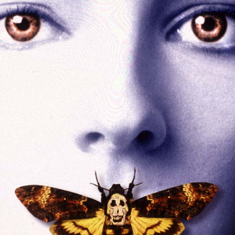 Jonathan Demme, 'The Silence of the Lambs', 2001, release poster detail