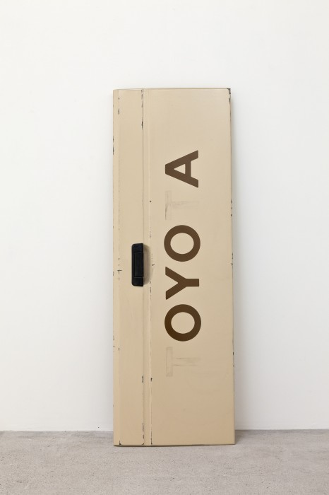 Kas Oshiro, 'Tailgate (OYOA)', 2011, acrylic and bondo on stretched canvas, 134,6 x 45,7 x 5 cm