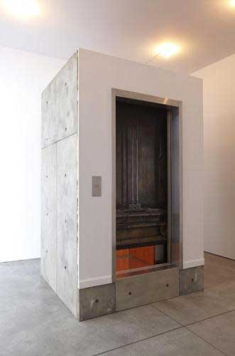 Leandro Erlich, 'Stuck Elevator', 2011, mixed media, overall, 278.1 x 173.4 x 168.9 cm