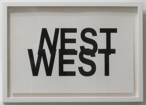 Matt Keegan, 'Nest West', 2008, silkscreen and letterpress print, 10 x 14 in