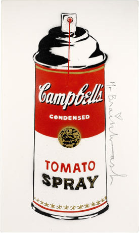 Mr. Brainwash, 'Tomato Spray', 2009