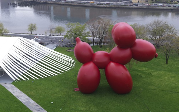 Paul McCarthy, 'Balloon Dog', 2013, inflatable, 80ft high